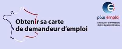 carte de demandeur d emploi Obtenir sa carte de demandeur d'emploi, de chomeur, ou de pôle